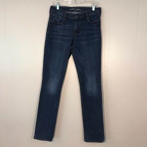 Old Navy Dark Wash Skinny Tall Jeans